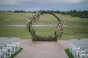 romantic setting at the exclusive Flying Horse Ranch in Colorado