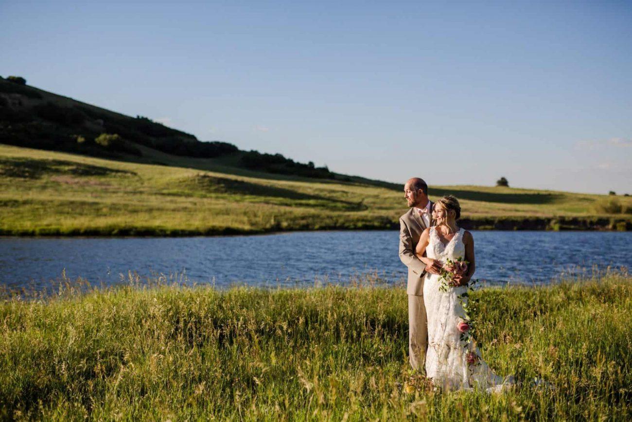 wedding venue overlooking 1400 acres of Colorado landscape