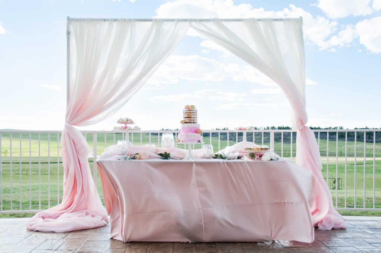 beautiful wedding venue on amazing ranch in Colorado