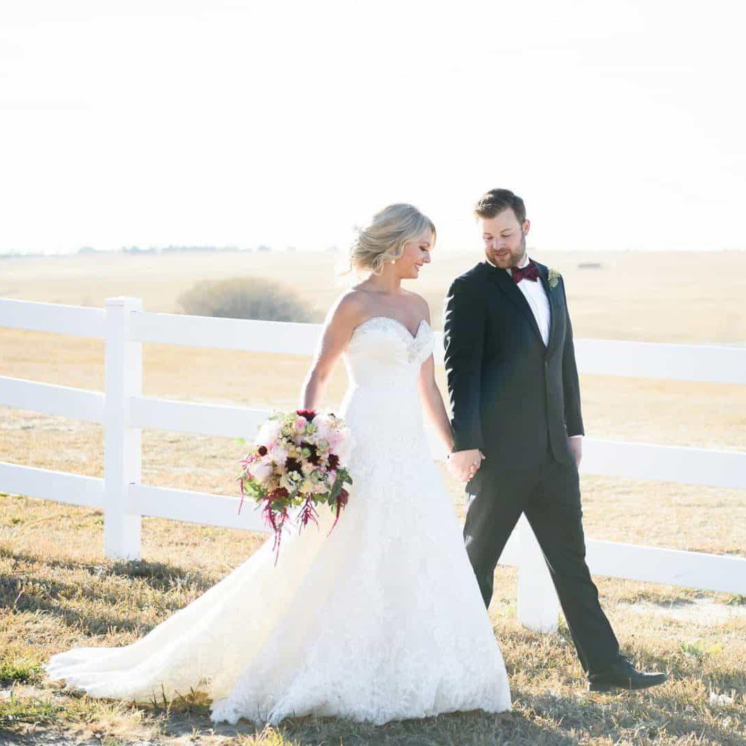 wedding at Flying Horse Ranch in Colorado